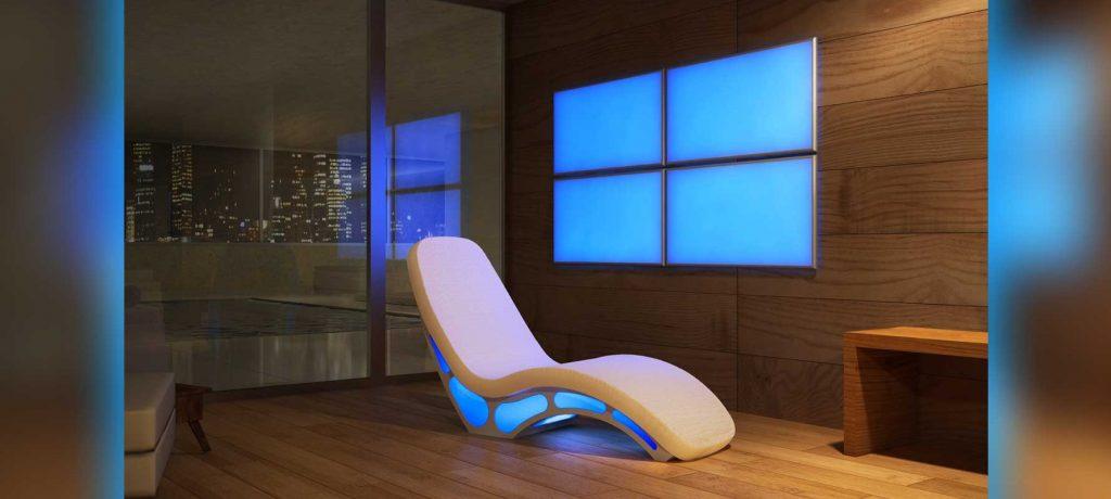 fauteuil de détente chauffant ou massant